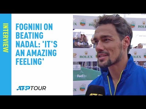 Fognini On Beating Nadal In Monte-Carlo: 'It's An Amazing Feeling'