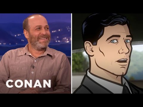 H. Jon Benjamin Panicked When He Was Cast As Archer - CONAN on TBS