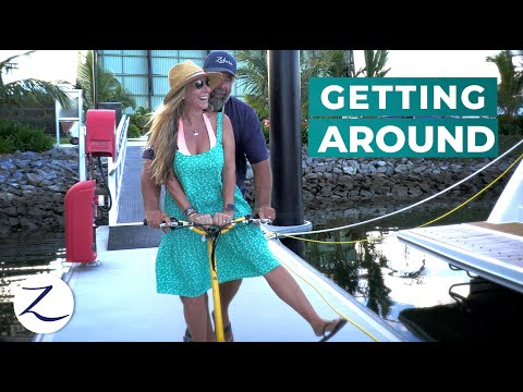 OFF the Boat: How We Get Around! // Haul Out, Antifoul Results (Ep 144)
