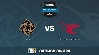 NiP vs. mousesports - ESL Pro League S5 - de_dust2 [CrystalMay, ceh9]