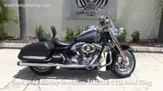 3. 2008 Harley-Davidson CVO Road King For Sale ~ 2018 Models Aug