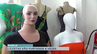 Onda de furtos  preocupa comerciantes de Marília