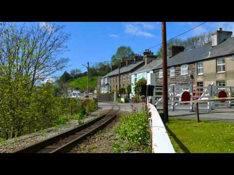 Double Fairlie Power on the Ffestiniog Railway May 2015