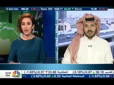 لقاء المحلل بن فريحان في جرس الافتتاح على قناة CNBC الثلاثاء 14-7-2015