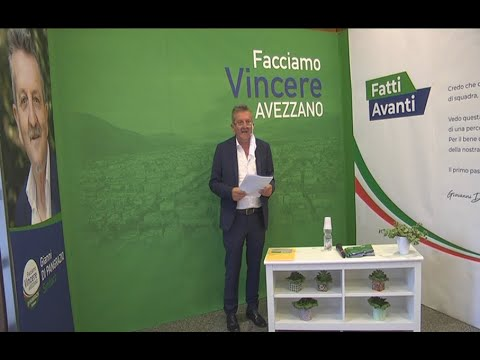 Avezzano - Inaugurata la sede elettorale di Gianni Di Pangrazio