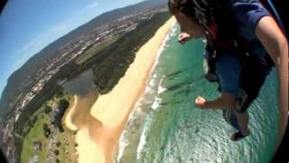 Wollongong Australia  City pictures : My Sky Dive in Wollongong Beach Sydney Australia!