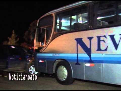 Grave acidente deixa feridos após colisão frontal entre Ranger e ônibus