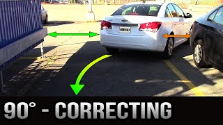 Video 90 degrees Parking - How to Correct Yourself MP3, 3GP, MP4, WEBM, AVI, FLV Agustus 2017