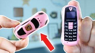 Video Cette mini Voiture est un Téléphone Portable ! MP3, 3GP, MP4, WEBM, AVI, FLV Oktober 2017