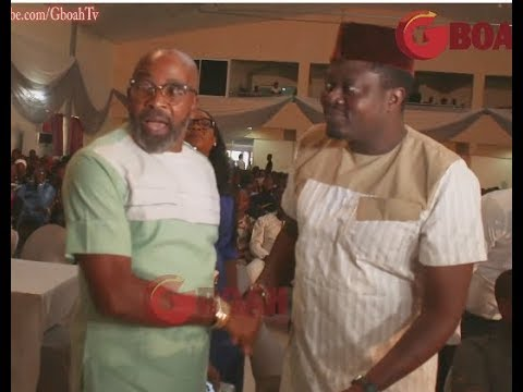 Yemi Solade Storms In As Comedian Omo Baba Makes People Laugh At Woli Agba's Live Concert