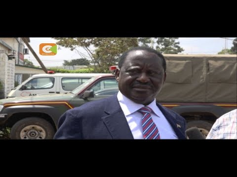 Odinga says he could reconsider his presidential poll pullout (видео)