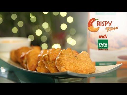 Cabbage Parcel Pakoda Recipe | Tata Sampann Low Oil Absorb Pakoda Mix | Crispy Kisse With Smita Deo