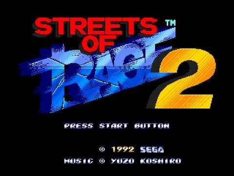 streets of rage ii megadrive