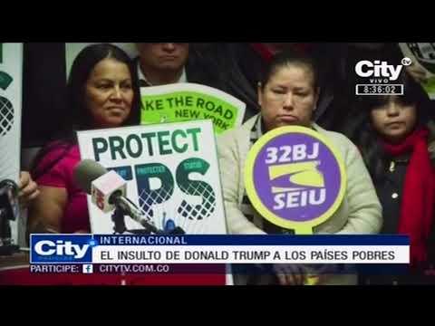 Trump llama a El Salvador y a Haití 'países de mierda' | CityTv