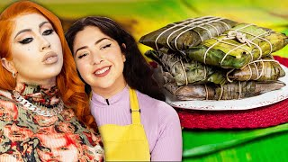 Can We Make More Hallacas Than A Professional Chef? Ft. Kali Uchis • Tasty by Tasty