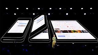 Samsung Galaxy Fold ОКОНЧАТЕЛЬНО ПОХОРОНИЛ iPhone XS и Xs Max! Презентация Galaxy S10 и Galaxy Fold