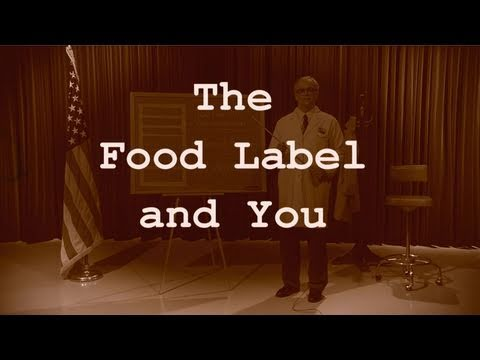 Label - Are you smarter than a food label? Find out on our quiz show spoof with host, 
