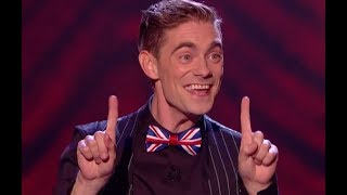 Video Comedian Magician Matt Do Some Mind Blowing Tricks With His Body | Final | Britain's Got Talent 2017 MP3, 3GP, MP4, WEBM, AVI, FLV April 2018