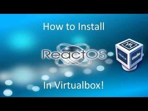 ReactOS - The Windows 2000 Clone - Installation in Virtualbox