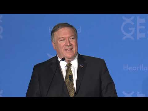 "Secretary Pompeo Delivers the ""Road to GES Heartland"" Keynote Address"