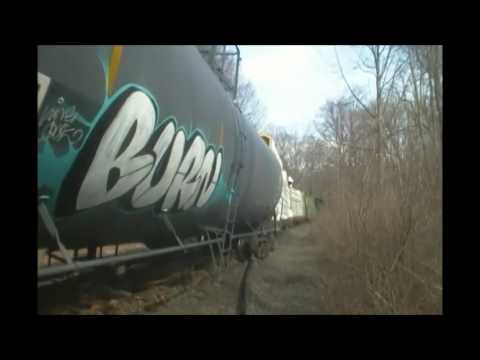 Housatonic Railroad Derailment @ Mp84 Southend Of Pittsfield Ma