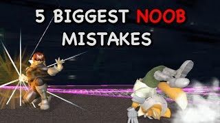 5 Biggest NOOB Mistakes in Smash