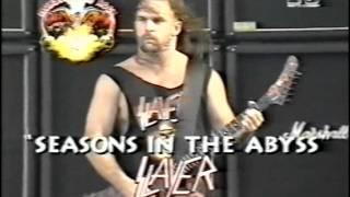 Video Slayer - Live At The Monsters Of Rock 1992 [Full Concert] MP3, 3GP, MP4, WEBM, AVI, FLV Oktober 2018