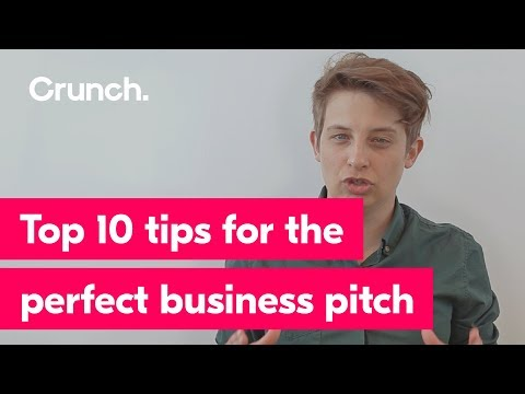 Top 10 tips for the perfect business pitch