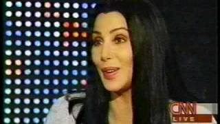Cher On Larry King Live - 1999 (Part 1)