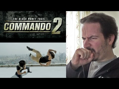 COMMANDO 2 - Official Trailer REACTION & REVIEW