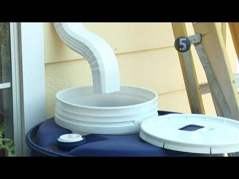 How To Build A Rainwater Collection System
