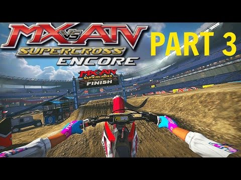 MX vs ATV Supercross Encore! - Gameplay/Walkthrough - Part 3 - Vegas Baby!
