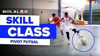 Video Tutorial Futsal : Pivot Lesson With Caisar Silitonga MP3, 3GP, MP4, WEBM, AVI, FLV Juli 2017