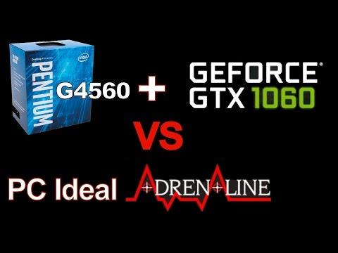 G4560 + GTX 1060 vs PC Ideal Adrenaline. Qual o melhor Custo X Benefício?