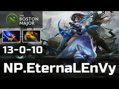 NP.EternaLEnVy vs EHOME • Mirana • 13-0 — Boston Major