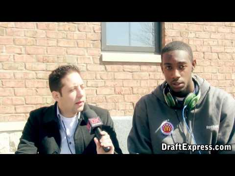 C.J. Leslie Interview & Practice Highlights - 2010 McDonald's All American Game