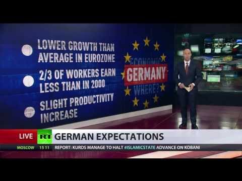 economic slowdown - Germany has reduced its projected economic growth for the foreseeable future. IFO institute for economic research president Hans-Werner Sinn says sanctions on Russia are playing their role...