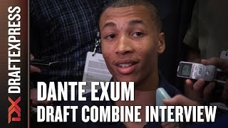 Dante Exum Draft Combine Interview