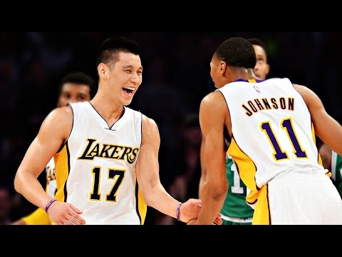 Jeremy Lin林書豪~2015 02 22 Lakers vs Celtics 湖人vs塞爾蒂克