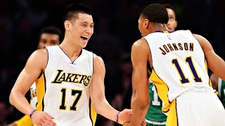Jeremy Lin林書豪│2015 02 22 Lakers vs Celtics 湖人vs塞爾蒂克