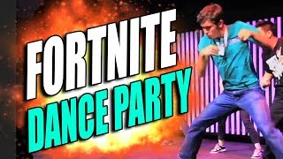 FORTNITE: DANCE PARTY REMIX (funny moments w/ Tobuscus)
