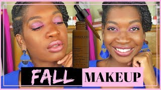 Dermablend Flawless Creator Foundation  75W OR 85N  +   BEST FULL COVERAGE FALL MAKEUP FOR DARK SKIN