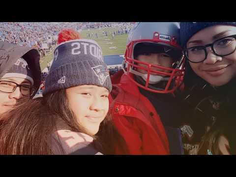 Happy birthday Alina, precious 13. It's our time, first Patriots game 12.03.17