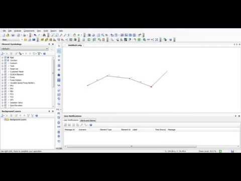 Bentley watergems , hammer (how to draw a pipe line automatically from an excel sheet by cad vba)