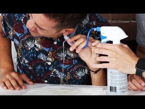People Extract Their Own Earwax