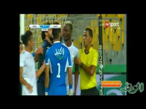 العرب اليوم - شاهد: اشتباك بين بانسيه والحارس أحمد الشناوي