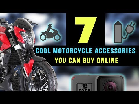 7 - Cool Motorcycle accessories you can buy online