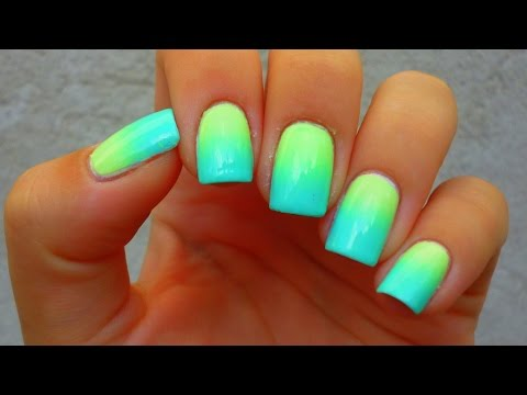 come fare l'effetto sfumato sulle unghie