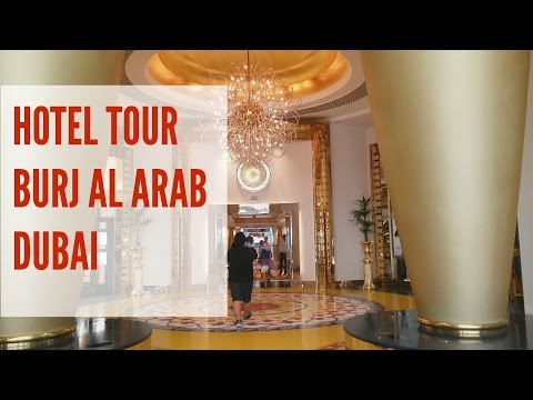 Burj Al Arab Dubai Hotel Tour - Photos Only