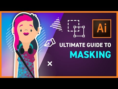 ULTIMATE GUIDE To MASKING In ILLUSTRATOR CC